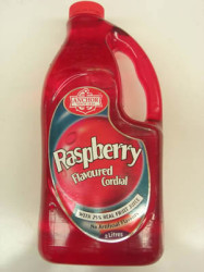 Anchor Red or Raspberry Cordial was used to treat animals for gastro complaints, too