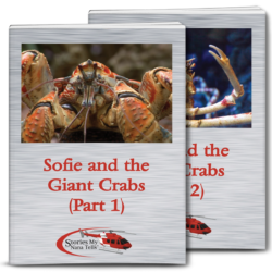 Sofie and the Giant Crabs has been donated to local school libraries