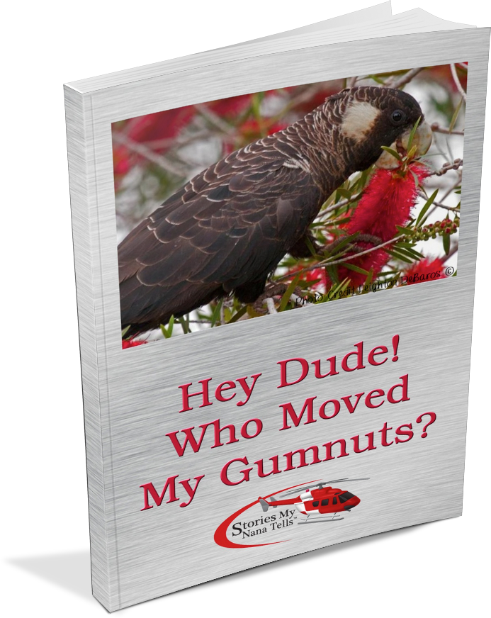 Hey Dude! Who Moved My Gumnuts? book cover