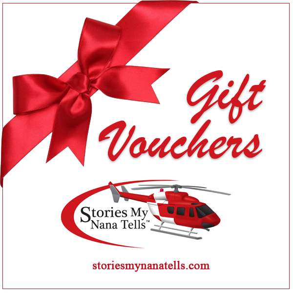 Use this Gift Voucher to select the book or story of your choice