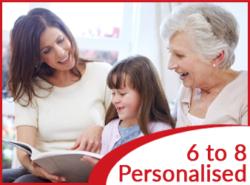 Personalised stories for 6-8 yo kids