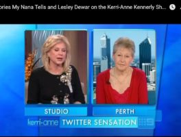 Before Stories My Nana Tells was launched, Lesley Dewar was on the Kerri-Ann Kennerly Show