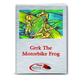 Grrk The Motorbike Frog is a key fundraiser for community groups