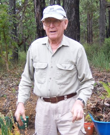 In 2006, my Dad, Nono, grew boronia six feet tall, but no daffodils