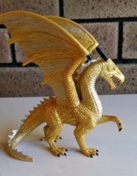 This is the Golden Dragon we are giving away to our winner, today