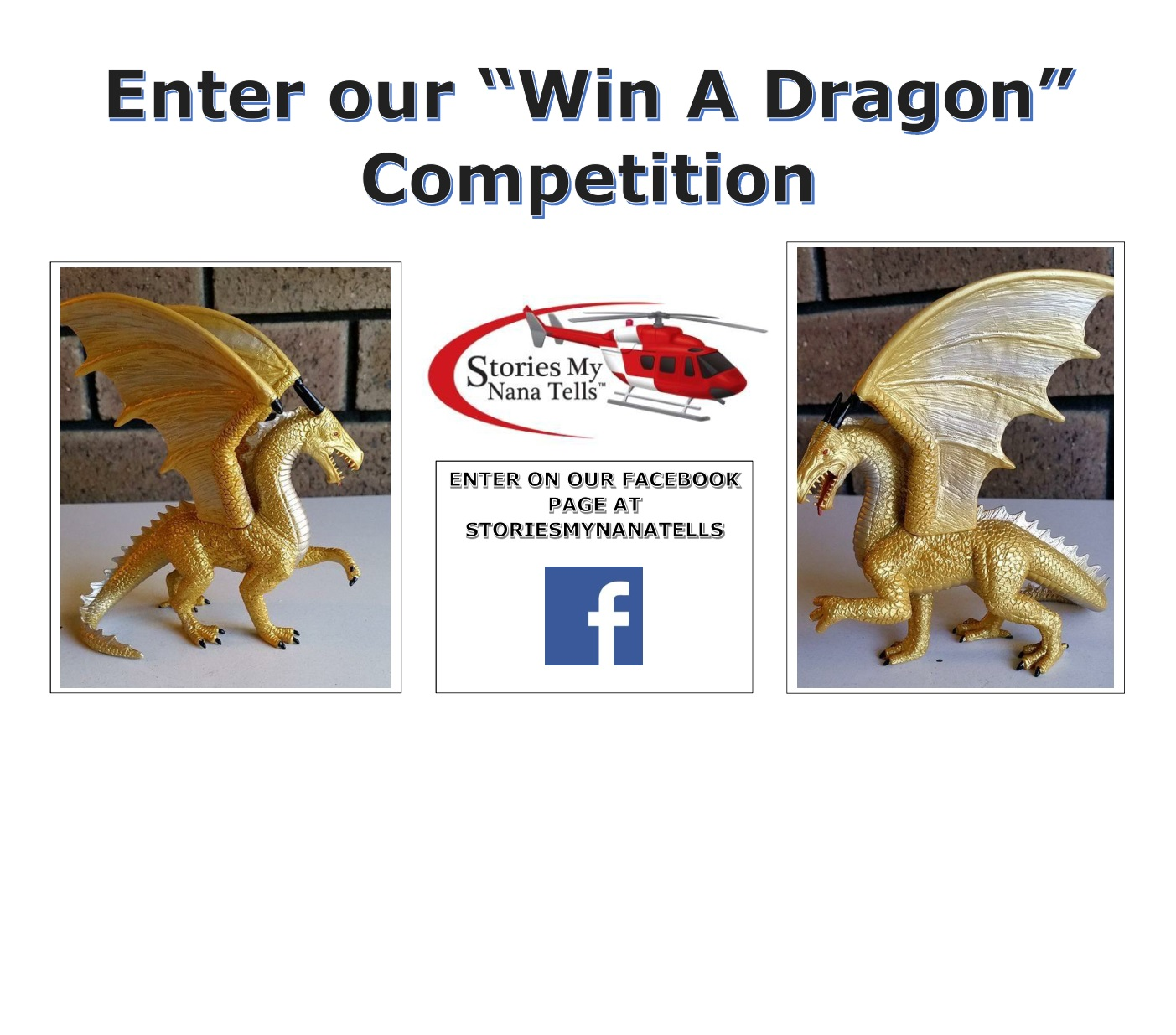 Be a winner of our Golden Dragon competition