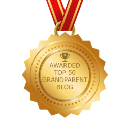 Top 50 Grandparent Blog award