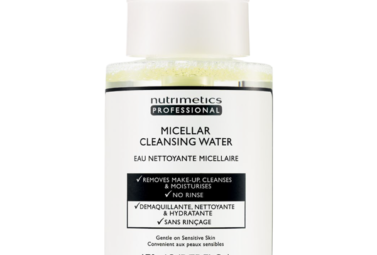 Micellar water is a colloidal, where cleansing oils clump together in a water solution