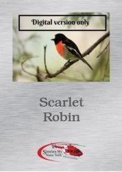 Illustration for Digital version only of Scarlet Robin