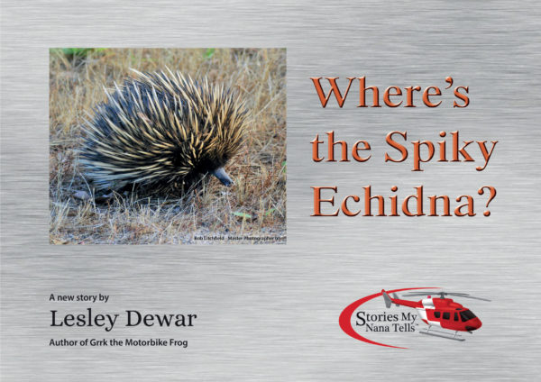 The cover of the Spiky Echidna book
