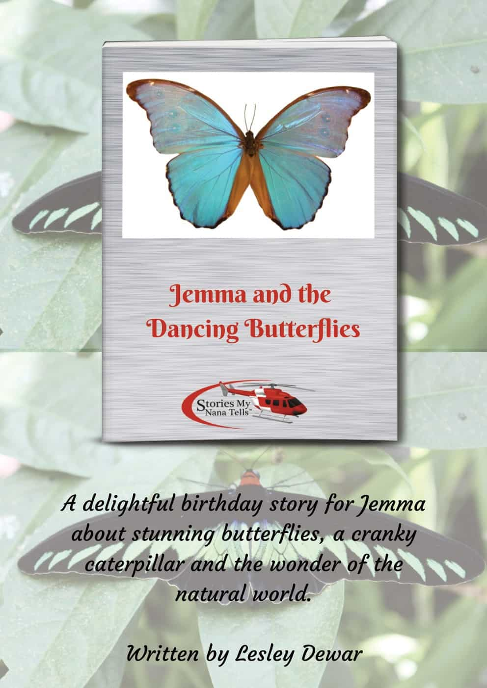 Cover page of Jemma and the Dancing Butterflies